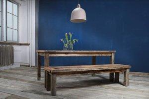 FraaiBerlin Bauholztisch im Landhausstil Susanne/Noah 200 x 100cm