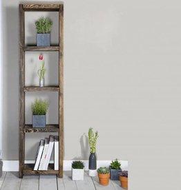 FraaiBerlin Regal im Landhaus-Stil Theresa Braun 200x50x24cm