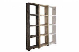 FraaiBerlin Regale im Landhaus-Stil Theresa 3er Set 200x150x24cm