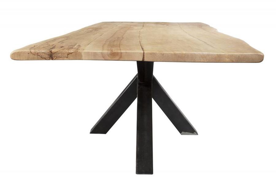 FraaiBerlin Esstisch aus Birkenholz & Eisen Erika 240 cm x 100 cm