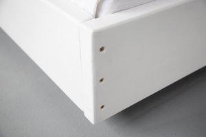 FraaiBerlin Bauholz Bett Lussan White Wash