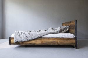 FraaiBerlin Bauholz Bett Verdon/Lussan  mit Lehne