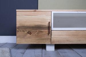 FraaiBerlin Sideboard Julia aus Bauholz 180x60x40cm