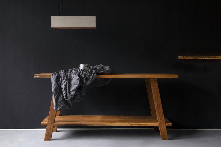 FraaiBerlin Waschtisch Lieanne aus Altholz Eiche