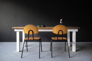 FraaiBerlin Landhaustisch aus Bauholz Susanne/Daan