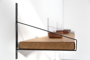FraaiBerlin Regal aus Eichenholz Alba  305x30x4cm