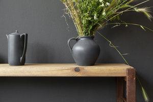 FraaiBerlin Küchenregal Sinem Bauholz/Eisen verrostet