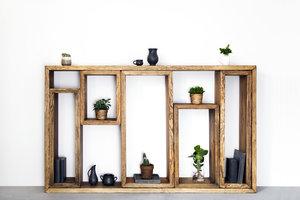 FraaiBerlin Sideboard aus Bauholz Marie