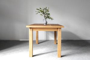 FraaiBerlin Landhaus Tisch Elisa aus Altholz Eiche