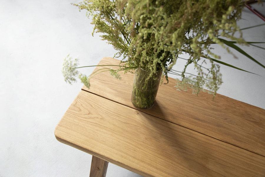 FraaiBerlin Hocker aus Altholz Eiche Marei