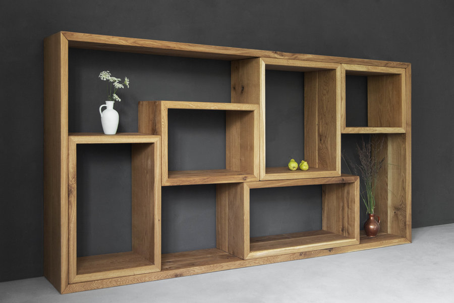 FraaiBerlin Sideboard aus Altholz Eiche Marie 2