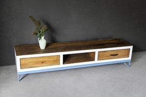 FraaiBerlin Sideboard Mira 2 aus Bauholz & Eisen