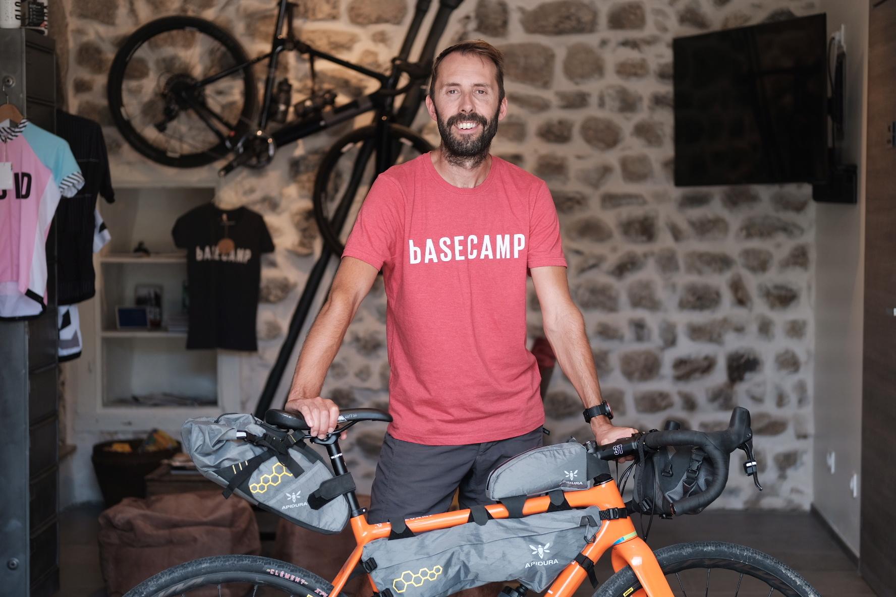 Basecamp T-shirt Gris clair - L