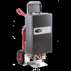 Mobile Heizzentrale 21 kW mit Automatik Estrichprogramm