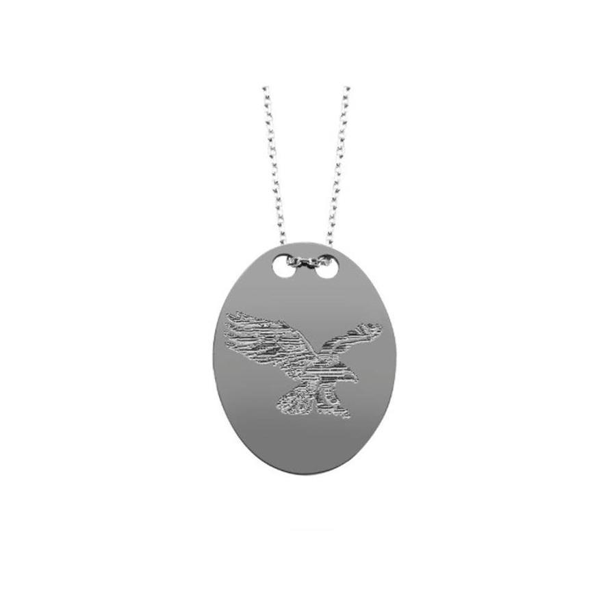 BJK necklace eagle silver