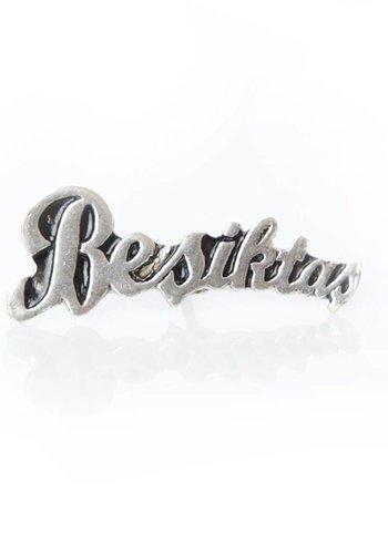 BJK Beşiktaş pin verguld zilver