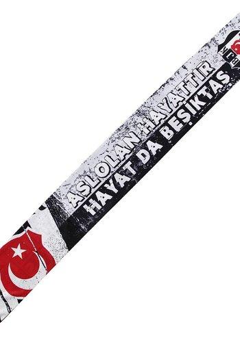 BJK y17e10 sjaal satijn