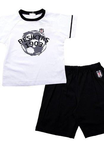 BJK outfit zweiteilig mit short baby 01 schwarz