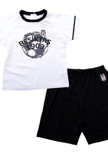 BJK two-piece with shortss for baby 01 black