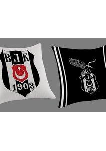 Kussen met Beşiktaş logo 1345