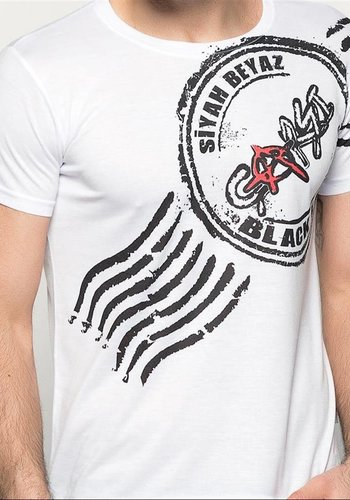 BJK çarşı 07 stamp T-shirt