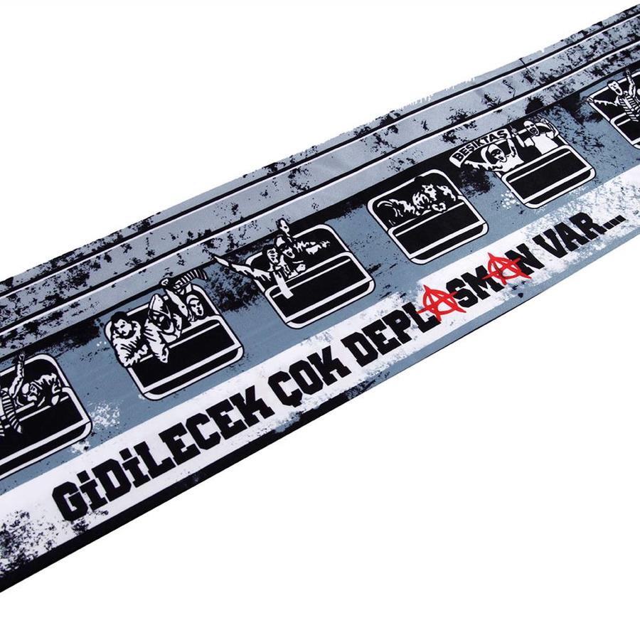 BJK y17e07 sjaal satijn