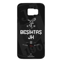 BJK samsung S6 black white cover