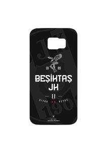 BJK Samsung S6 siyah beyaz
