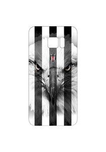 BJK samsung S6 edge striped black eagle cover