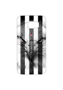 BJK samsung S6 striped black eagle cover