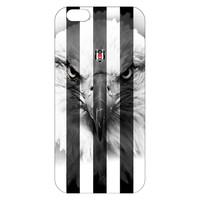 BJK iphone 6 plus striped black eagle cover