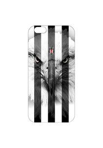 BJK iphone 6 plus gestreift schwarzer Adler Handyhülle