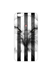 BJK iphone 6 plus striped black eagle cover