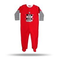 BJK baby bodysuit 03 red