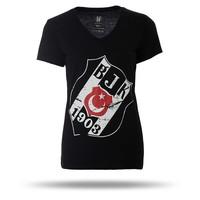 8717125 T-shirt dames zwart
