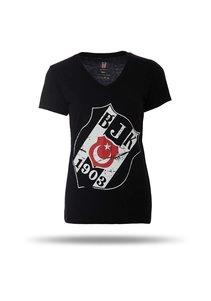 8717125 t-shirt femme noir