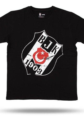 6717125 jr T-shirt siyah