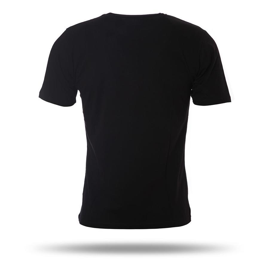 7717122 T-shirt heren zwart