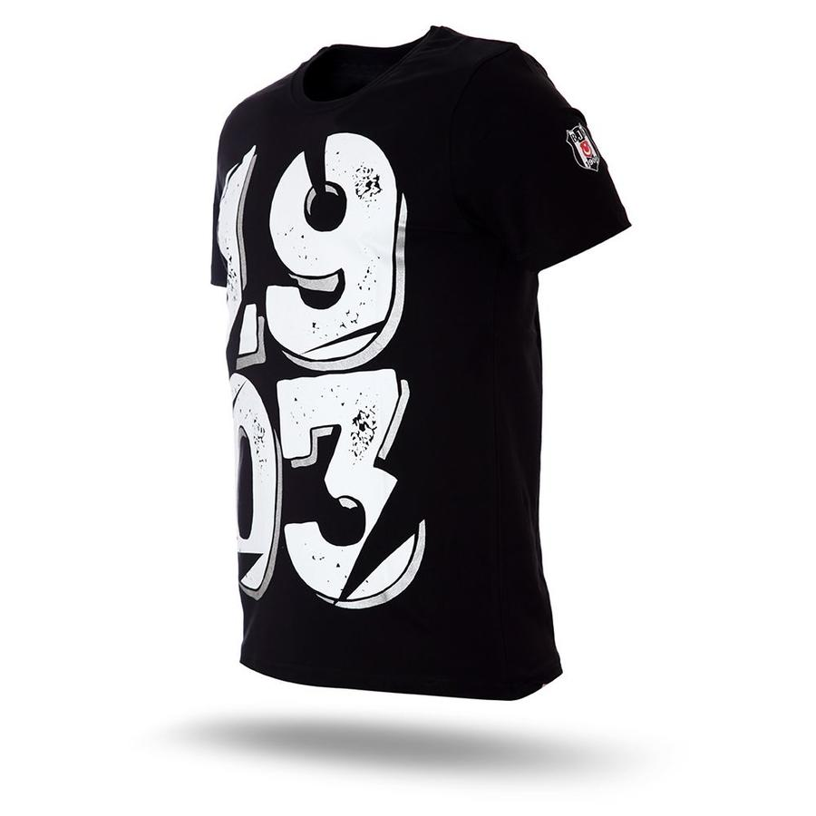 7717158 t-shirt herren schwarz