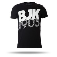 7717136 T-shirt heren zwart