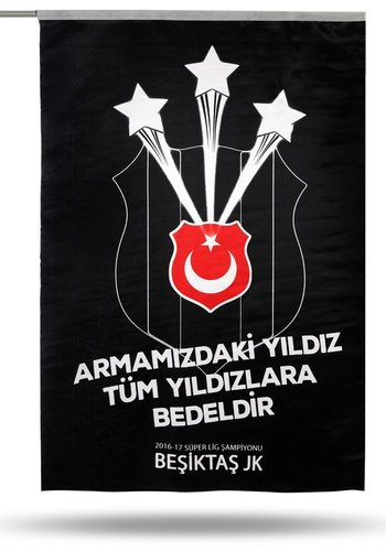 BJK 2016-2017 CHAMP. FLAG 70*105