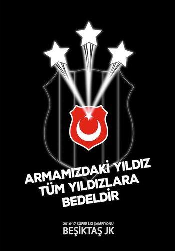 BJK 2016-2017 ŞAMP.BAYRAK 100*150
