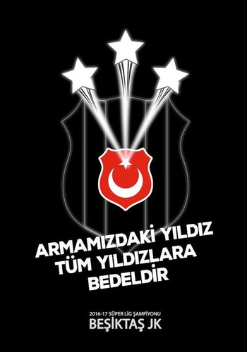 BJK 2016-2017 CHAMP. FLAG 200*300