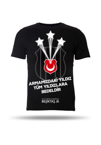 BJK 2016-2017 ŞAMP. JR T-SHIRT