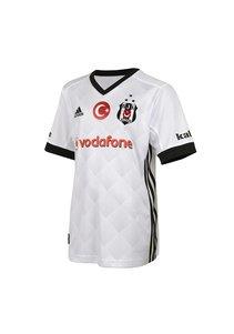 Beşiktaş Adidas kindervoetbalshirt 17-18 wit