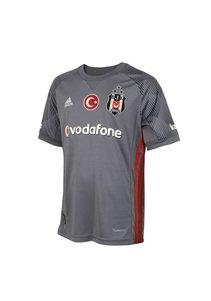 Beşiktaş Adidas kids football shirt 17-18 gray