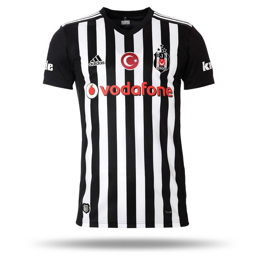 Beşiktaş 17 Adidas Gestreift 18 Trikot CxedrBo