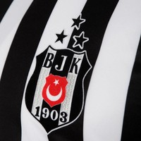 Beşiktaş Adidas football shirt 17-18 striped