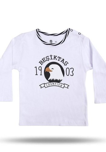 BJK BABY T-SHIRT 01 WHITE