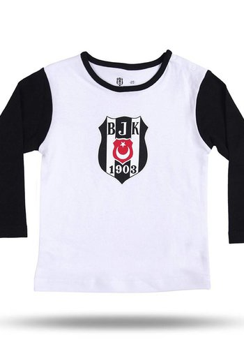 BJK BEBEK T-SHİRT 03 Siyah - Beyaz